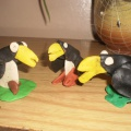 Мастер-класс по лепке из пластилина «Птица Тукан»