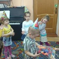 Фотоотчет о проведении развлечения «День именинника»