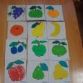 Художественно-творческая деятельность с детьми среднего возраста. Лепка «Фруктовый урожай»