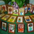Конспект НОД по рисованию для детей старшего дошкольного возраста «Сказочный» букет для бабушки»