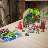 Долгосрочный проект для детей средней группы «Превращение коробочек в игрушек-зверюшек»