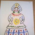 Конспект занятия по рисованию во второй младшей группе «Знакомство с дымковской игрушкой. Рисование дымковских узоров»