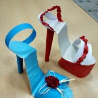 Мастер-класс «Туфелька» в технике оригами