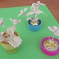 Детский мастер-класс «Цветочные миниатюры»