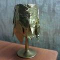 Мастер-класс. Интерьерная поделка из природного и бросового материала «Осенний торшер»