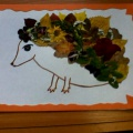 Мастер-класс «Осенний ёжик»