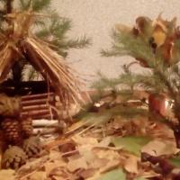 Поделка из природного материала «Мишка в лесу»