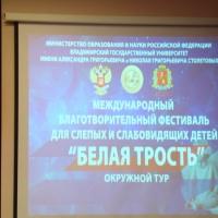 Фотоотчёт об участии в гала-концерте фестиваля «Белая трость»