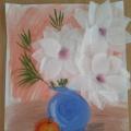 Мастер-класс «Натюрморт «Ваза с цветами»
