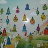 Мастер-класс «Елочные игрушки своими руками в технике пластилинографии» для детей 5–7 лет