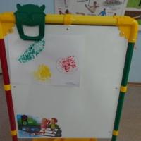 Конспект занятия по нетрадиционному рисованию «Полезные овощи» во второй младшей группе