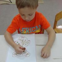Конспект занятия по нетрадиционному рисованию «Мой любимый мишка» во второй младшей группе