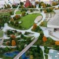 870-летие Москвы в парке «Зарядье» из цикла «Моя любимая Москва» (фоторепортаж)