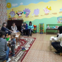 Фотоотчёт о нетрадиционном мероприятии для родителей на тему «Роль родителей в нравственном воспитании своих детей»