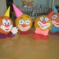«Веселый клоун». Мастер-класс