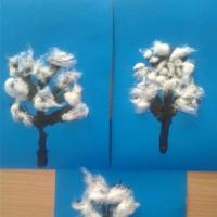 «Зимнее дерево» в технике пластилинографии для детей 4–5 лет