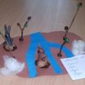 Мастер-класс по изготовлению коллективной работы «Весенний лес» с детьми второй младшей группы