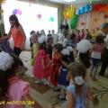 Фотоотчёт о проведении музыкально-спортивного развлечения к Дню защиты детей «Проделки Бармалея»