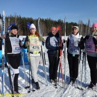 Фотоотчёт «Лыжня России-2018»