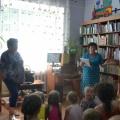 Фотоотчет о занятии по экологическому воспитанию в районной детской библиотеке в рамках летних чтений.