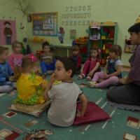 Конспект непосредственно образовательной деятельности для детей средней группы «Кошечка»