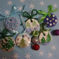 Мастер-класс по изготовлению елочных игрушек из соленого теста «Новогодние игрушки»