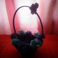 Мастер-класс «Декорирование цветочной корзины цветами»