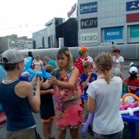 Фотоотчет празднования Дня города. Мастер-класс «Волшебные шарики»
