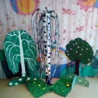 Совместные поделки «Наши деревца»