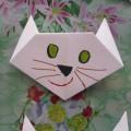 Мастер-класс по оригами «Котик»