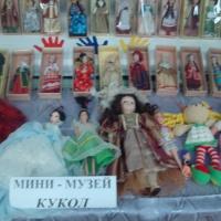 Итоговое мероприятие подготовительной группы компенсирующей направленности ТНР «Мини-музей кукол»