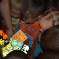 Акции «Внимание дети-засветись в темноте» (фотоотчёт)