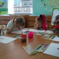 Конспект занятия по рисованию «Осенний клен» (подготовительная группа)