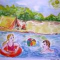 Реки и озёра Мордовии глазами детей.