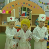 Фотоотчет «Играем в больницу»