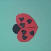 Открытка в День святого Валентина «Для мамочки» во второй младшей группе