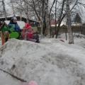Оформление участка в зимнее время года