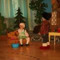 Театральная постановка сказки «Колобок». Театральная постановка сказки колобок. Младшая группа.