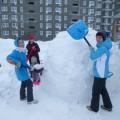 Фотоотчёт о конкурсе снежных скульптур «Гиперборея» (вторая группа раннего возраста)