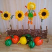 Осенний праздник «Капустные посиделки» для детей старшей группы