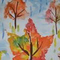 Нетрадиционные техники рисования. Конспект НОД по рисованию осеннего пейзажа в старшей группе