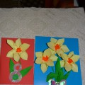 «Милая бабуля, тебя я поздравляю!» Мастер-класс по изготовлению открытки для бабушки к 8 Марта в технике объемной аппликации