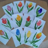 Фотоотчёт «Подарки для милых мам и бабушек»
