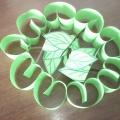 Мастер-класс «Поделка из цветной бумаги «Яблочки»