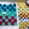 Фотоотчет с выставки «Цветные шашки».