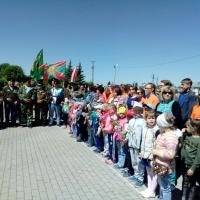 Фотоотчет «Граница России священна и неприкосновенна». Экскурсия с детьми в Парк Победы на открытие мемориала