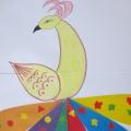 Мастер-класс «Подарим Жар-птице красивый хвостик»