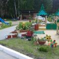 Оформление прогулочного участка детского сада в летний период