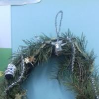 Фотоотчет о выставке поделок «Новогодние фантазии» в подготовительной группе