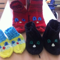 Интегрированное занятие «Волшебные носочки» для детей 3-х лет